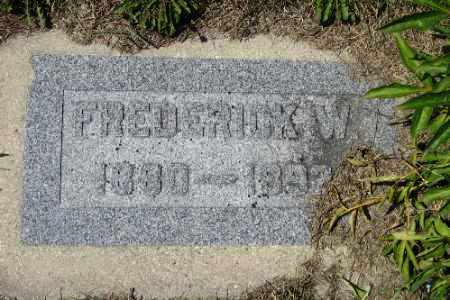 KRUEGER, FREDERICK W. - Cass County, North Dakota | FREDERICK W. KRUEGER - North Dakota Gravestone Photos