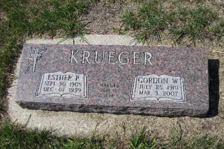 KRUEGER, GORDON W. - Cass County, North Dakota | GORDON W. KRUEGER - North Dakota Gravestone Photos
