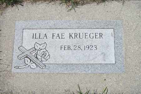 KRUEGER, ILLA FAE - Cass County, North Dakota | ILLA FAE KRUEGER - North Dakota Gravestone Photos