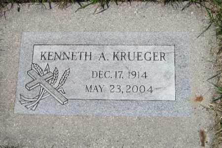 KRUEGER, KENNETH A. - Cass County, North Dakota | KENNETH A. KRUEGER - North Dakota Gravestone Photos