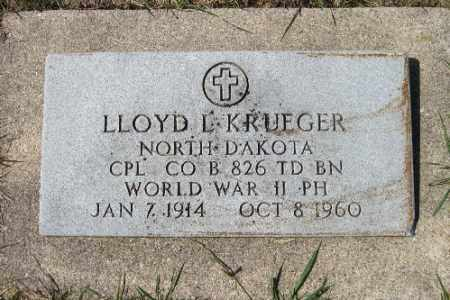 KRUEGER, LLOYD C. - Cass County, North Dakota | LLOYD C. KRUEGER - North Dakota Gravestone Photos