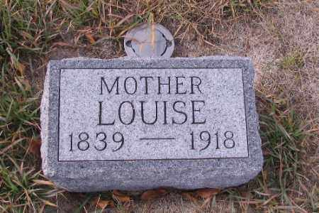 KRUEGER, LOUISE - Cass County, North Dakota | LOUISE KRUEGER - North Dakota Gravestone Photos