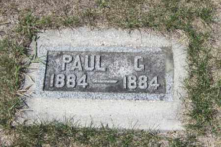 KRUEGER, PAUL G. - Cass County, North Dakota | PAUL G. KRUEGER - North Dakota Gravestone Photos