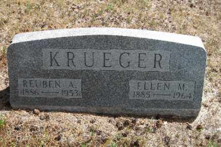 KRUEGER, REUBEN A. - Cass County, North Dakota | REUBEN A. KRUEGER - North Dakota Gravestone Photos
