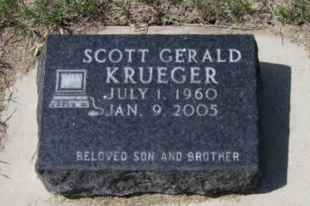 KRUEGER, SCOTT GERALD - Cass County, North Dakota | SCOTT GERALD KRUEGER - North Dakota Gravestone Photos