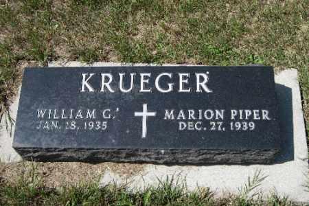 KRUEGER, MARION PIPER - Cass County, North Dakota | MARION PIPER KRUEGER - North Dakota Gravestone Photos