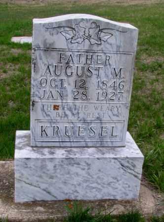 KRUESEL, AUGUST M. - Cass County, North Dakota | AUGUST M. KRUESEL - North Dakota Gravestone Photos