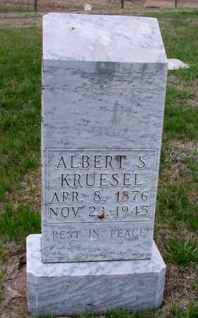 KRUESEL, ALBERT S. - Cass County, North Dakota   ALBERT S. KRUESEL - North Dakota Gravestone Photos