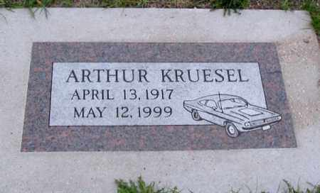 KRUESEL, ARTHUR - Cass County, North Dakota   ARTHUR KRUESEL - North Dakota Gravestone Photos