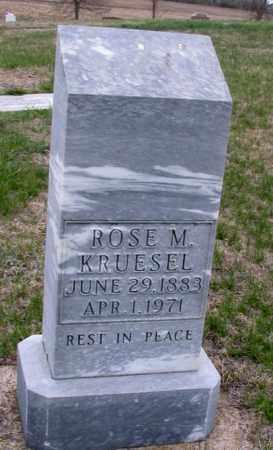 KRUESEL, ROSE M. - Cass County, North Dakota | ROSE M. KRUESEL - North Dakota Gravestone Photos