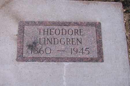 LINDGREN, THEODORE - Cass County, North Dakota | THEODORE LINDGREN - North Dakota Gravestone Photos
