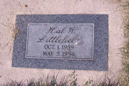 LITTLEFIELD, HAL W. - Cass County, North Dakota | HAL W. LITTLEFIELD - North Dakota Gravestone Photos