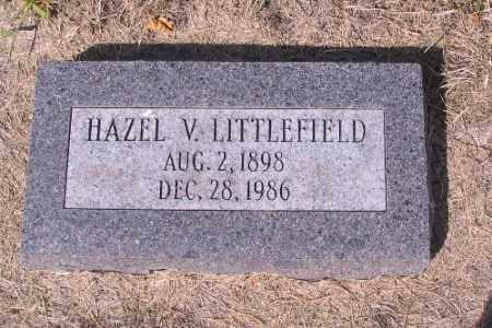 LITTLEFIELD, HAZEL V. - Cass County, North Dakota | HAZEL V. LITTLEFIELD - North Dakota Gravestone Photos