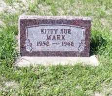 MARK, KITTY SUE - Cass County, North Dakota   KITTY SUE MARK - North Dakota Gravestone Photos