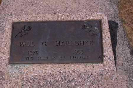 MARSCHLE, PAUL G. - Cass County, North Dakota | PAUL G. MARSCHLE - North Dakota Gravestone Photos
