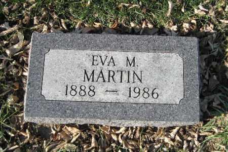 MARTIN, EVA M. - Cass County, North Dakota   EVA M. MARTIN - North Dakota Gravestone Photos
