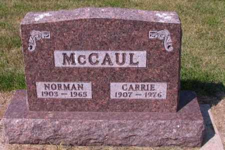 MCCAUL, NORMAN - Cass County, North Dakota | NORMAN MCCAUL - North Dakota Gravestone Photos