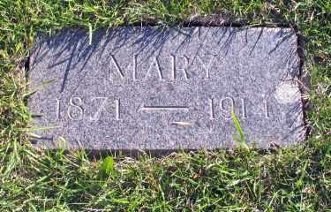 MCDONALD, MARY - Cass County, North Dakota | MARY MCDONALD - North Dakota Gravestone Photos
