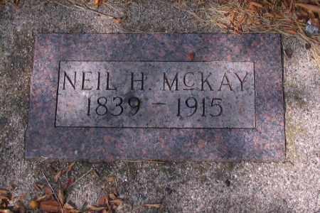 MCKAY, NEIL H. - Cass County, North Dakota   NEIL H. MCKAY - North Dakota Gravestone Photos