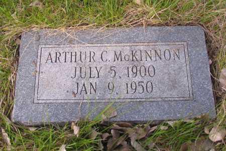 MCKINNON, ARTHUR C. - Cass County, North Dakota   ARTHUR C. MCKINNON - North Dakota Gravestone Photos