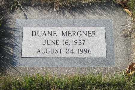 MERGNER, DUANE - Cass County, North Dakota | DUANE MERGNER - North Dakota Gravestone Photos