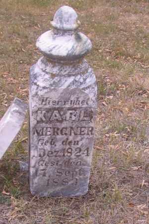 MERGNER, KARL - Cass County, North Dakota | KARL MERGNER - North Dakota Gravestone Photos