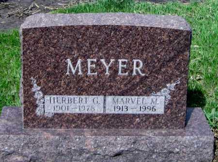MEYER, MARVEL M. - Cass County, North Dakota | MARVEL M. MEYER - North Dakota Gravestone Photos