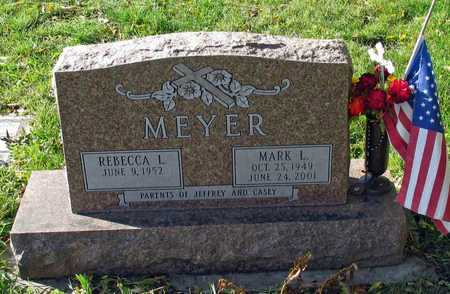 MEYER, MARK L. - Cass County, North Dakota | MARK L. MEYER - North Dakota Gravestone Photos