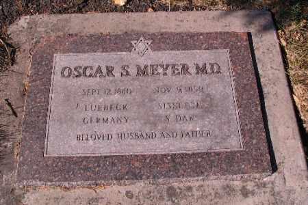 MEYER, OSCAR S.  M. D. - Cass County, North Dakota   OSCAR S.  M. D. MEYER - North Dakota Gravestone Photos