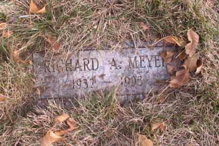 MEYER, RICHARD A. - Cass County, North Dakota | RICHARD A. MEYER - North Dakota Gravestone Photos