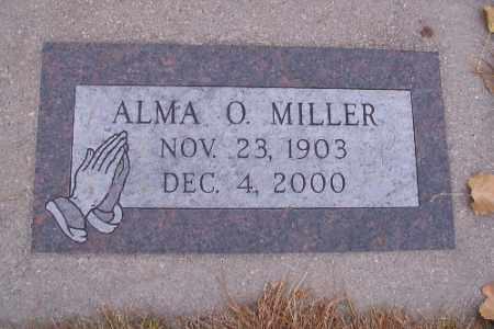 MILLER, ALMA O. - Cass County, North Dakota | ALMA O. MILLER - North Dakota Gravestone Photos