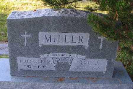 MILLER, FLORENCE M. - Cass County, North Dakota | FLORENCE M. MILLER - North Dakota Gravestone Photos