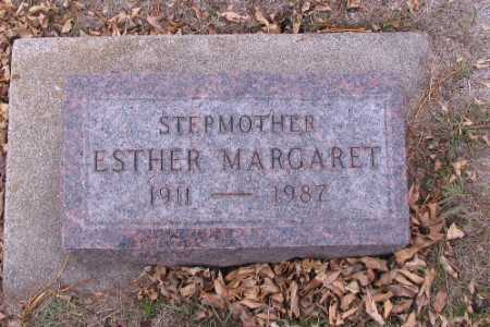 MILLER, ESTHER MARGARET - Cass County, North Dakota | ESTHER MARGARET MILLER - North Dakota Gravestone Photos