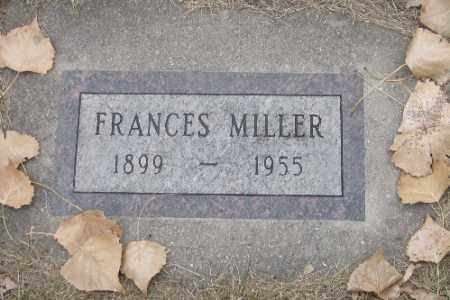 MILLER, FRANCES - Cass County, North Dakota | FRANCES MILLER - North Dakota Gravestone Photos