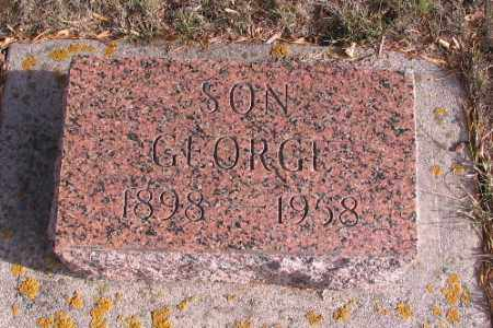 MILLER, GEORGE - Cass County, North Dakota | GEORGE MILLER - North Dakota Gravestone Photos