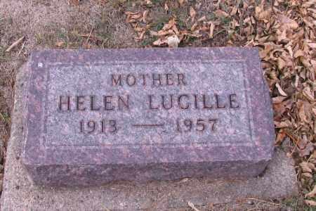 MILLER, HELEN LUCILLE - Cass County, North Dakota | HELEN LUCILLE MILLER - North Dakota Gravestone Photos