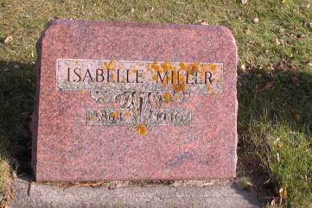 MILLER, ISABELLE - Cass County, North Dakota | ISABELLE MILLER - North Dakota Gravestone Photos