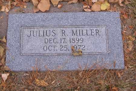 MILLER, JULIUS R. - Cass County, North Dakota   JULIUS R. MILLER - North Dakota Gravestone Photos