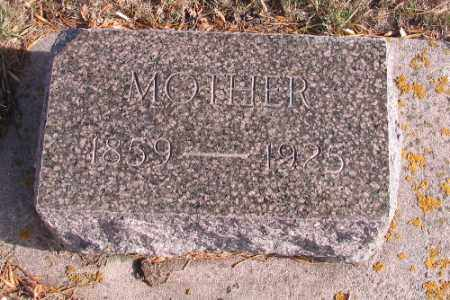 MILLER, MOTHER - Cass County, North Dakota | MOTHER MILLER - North Dakota Gravestone Photos