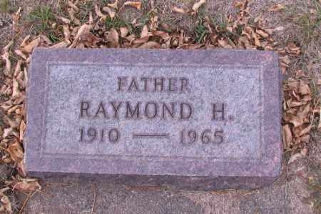 MILLER, RAYMOND H. - Cass County, North Dakota | RAYMOND H. MILLER - North Dakota Gravestone Photos