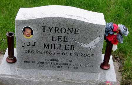 MILLER, TYRONE LEE - Cass County, North Dakota | TYRONE LEE MILLER - North Dakota Gravestone Photos