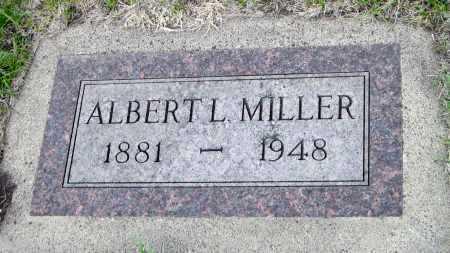 MILLER, ALBERT L. - Cass County, North Dakota   ALBERT L. MILLER - North Dakota Gravestone Photos