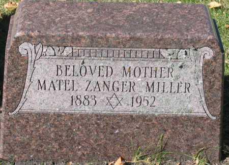 MILLER, MATEL - Cass County, North Dakota   MATEL MILLER - North Dakota Gravestone Photos
