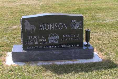 MONSON, BRUCE A. - Cass County, North Dakota | BRUCE A. MONSON - North Dakota Gravestone Photos