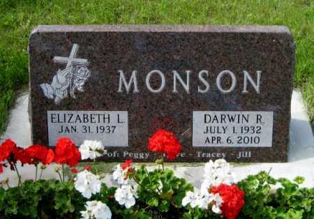 MONSON, DARWIN R. - Cass County, North Dakota   DARWIN R. MONSON - North Dakota Gravestone Photos