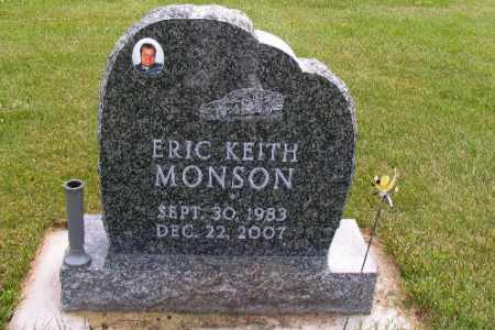 MONSON, ERIC KEITH - Cass County, North Dakota | ERIC KEITH MONSON - North Dakota Gravestone Photos