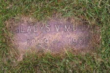 MONSON, GLADYS V. - Cass County, North Dakota | GLADYS V. MONSON - North Dakota Gravestone Photos