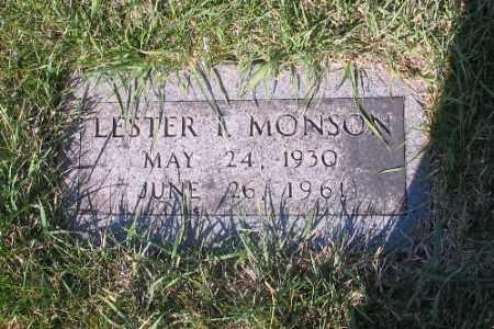 MONSON, LESTER - Cass County, North Dakota | LESTER MONSON - North Dakota Gravestone Photos