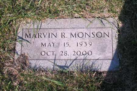 MONSON, MARVIN R. - Cass County, North Dakota | MARVIN R. MONSON - North Dakota Gravestone Photos