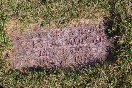 MONSON, NELS A. - Cass County, North Dakota   NELS A. MONSON - North Dakota Gravestone Photos